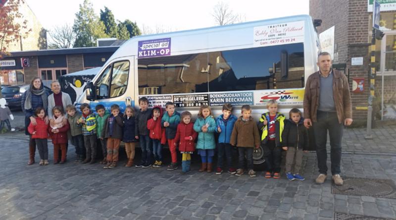 Activiteitenverslag van uw gesponsord project minibus Vrije basisschool Bavegem Klim-Op