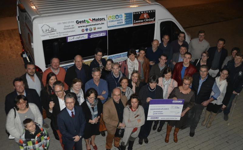 Activiteitenverslag van uw gesponsord project minibus Centrum voor revalidatie Ter Kouter Deinze
