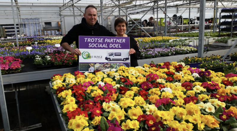 Lokale ondernemers in de bloemetjes gezet!